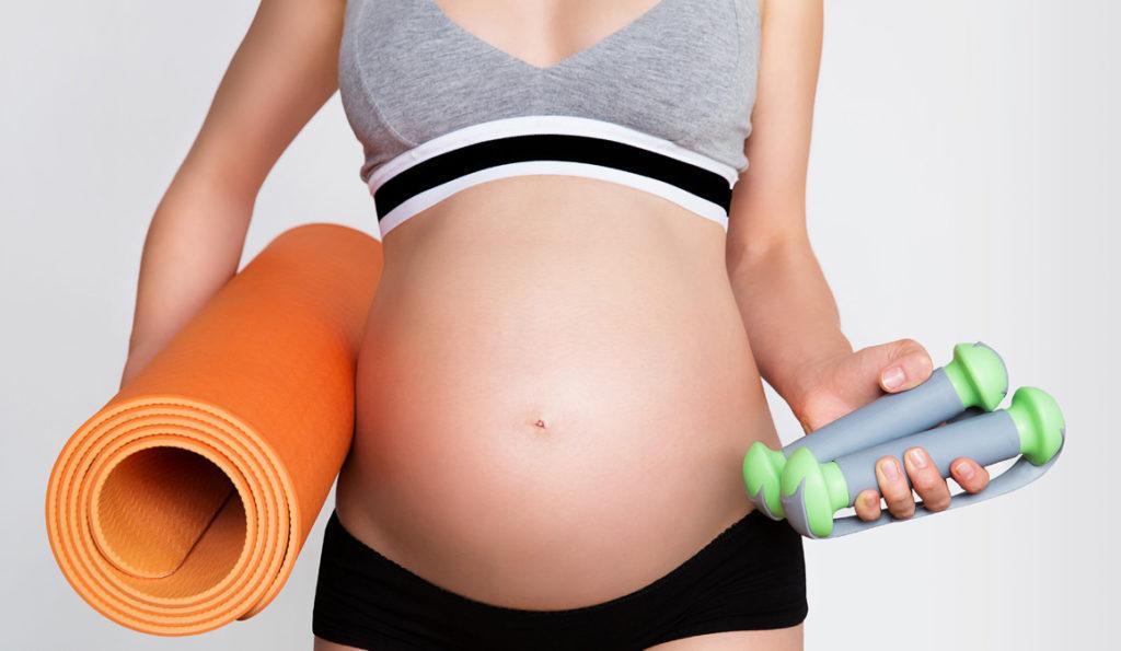 Embarazo Entrenamiento Deporte